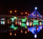 han river bridge da nang